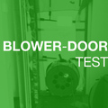 Blower-Door Test